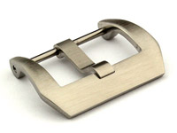 26mm Stainless Steel Trapezium Buckle fitted by Screw - Brushed Finish