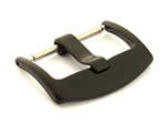 Brushed Black (PVD) Stainless Steel Watch Strap Buckle BRD 01