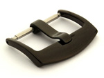 Polished Black (PVD) Stainless Steel Watch Strap Buckle BRD 01