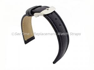 Watch Strap Band Freiburg RM Genuine Leather 28mm Navy Blue/Blue