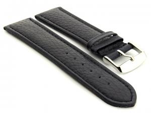 Extra Long Watch Band Freiburg  Navy Blue / Blue 28mm