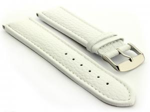 Extra Long Watch Band Freiburg  White / White 20mm