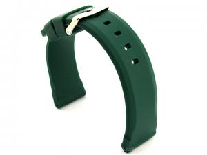 Silicone Watch Band SN Waterproof Green 22mm