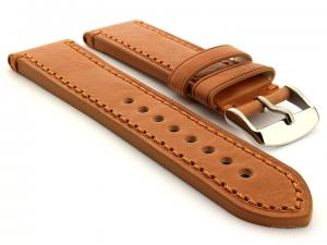 Leather Watch Strap Grand Catalonia Brown 24mm