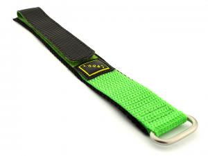 Velcro Watch Strap Nylon Green Sport 02