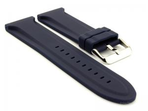 Silicone Rubber Watch Strap Jumbo Navy Blue 02