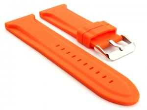 Silicone Rubber Watch Strap Jumbo Orange 02