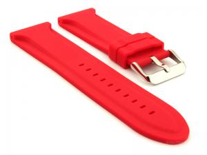 Silicone Rubber Watch Strap Jumbo Red 02