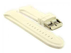 Silicone Rubber Watch Strap Jumbo White 02