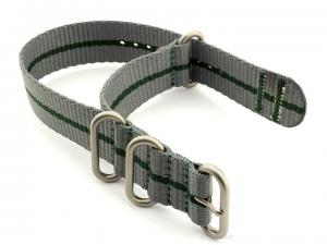 Nato Watch Strap CS Grey/Green 22mm