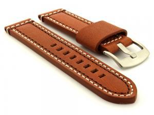Genuine Leather Watch Strap Valentin Brown 20mm