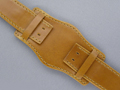 Leather Watch Strap BUND Style Brown 20mm