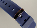 Silicone Waterproof Watch Strap Blue 20mm