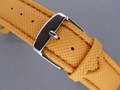 Polyurethane Waterproof Watch Strap Orange 22mm