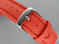 Polyurethane Waterproof Watch Strap Red 18mm