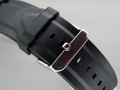 Silicone Waterproof Watch Strap Black 26mm