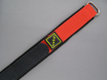 Nylon Velcro Watch Strap SPORT Red 22mm