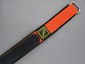 Nylon Velcro Watch Strap SPORT Orange 18mm
