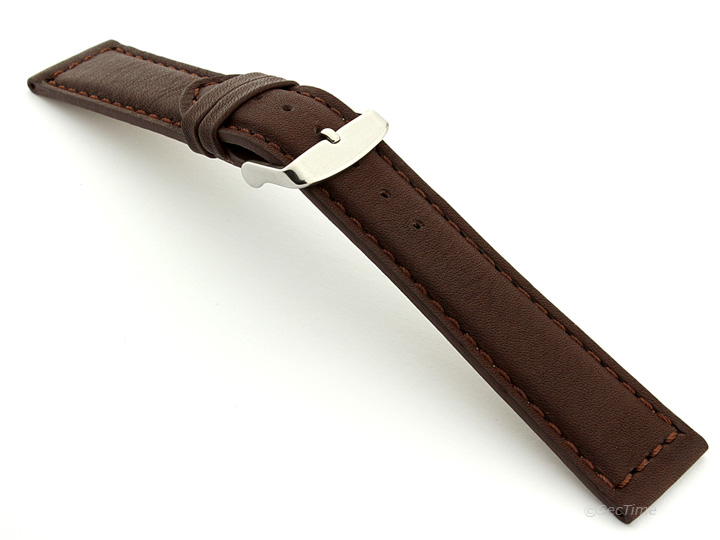 Mens Genuine Leather Watch Strap Band Corsair 18mm 20mm 22mm 24mm - MM R