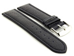 Extra Long Watch Band Freiburg Navy Blue / Blue 20mm