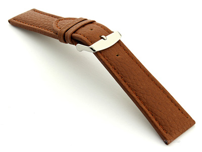 Extra Long Watch Band Freiburg  Brown / Brown 22mm