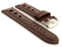 Racing Style Watch Band Monte Carlo Dark Brown 01