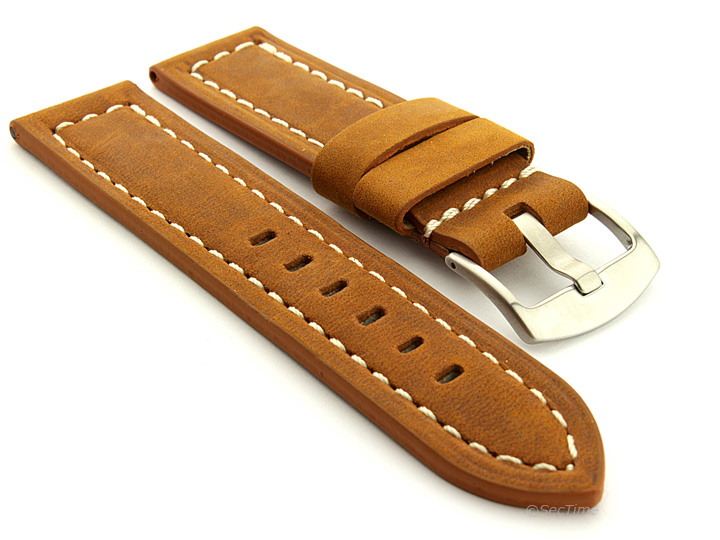 Watch Band Replacement Brown (Tan) Panor 02