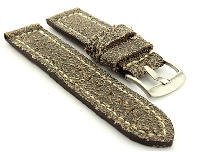 Leather Watch Band Panor Jeans 26mm