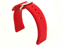 Silicone Watch Band Red SN 02
