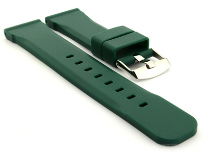 Silicone Watch Band Green SN 01