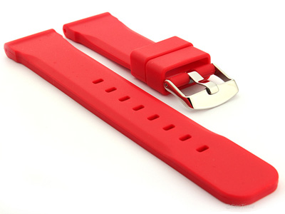 Silicone Watch Band Red SN 01