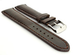 Breitling Watch Strap Dark Brown with Brown Stitching BIO 01