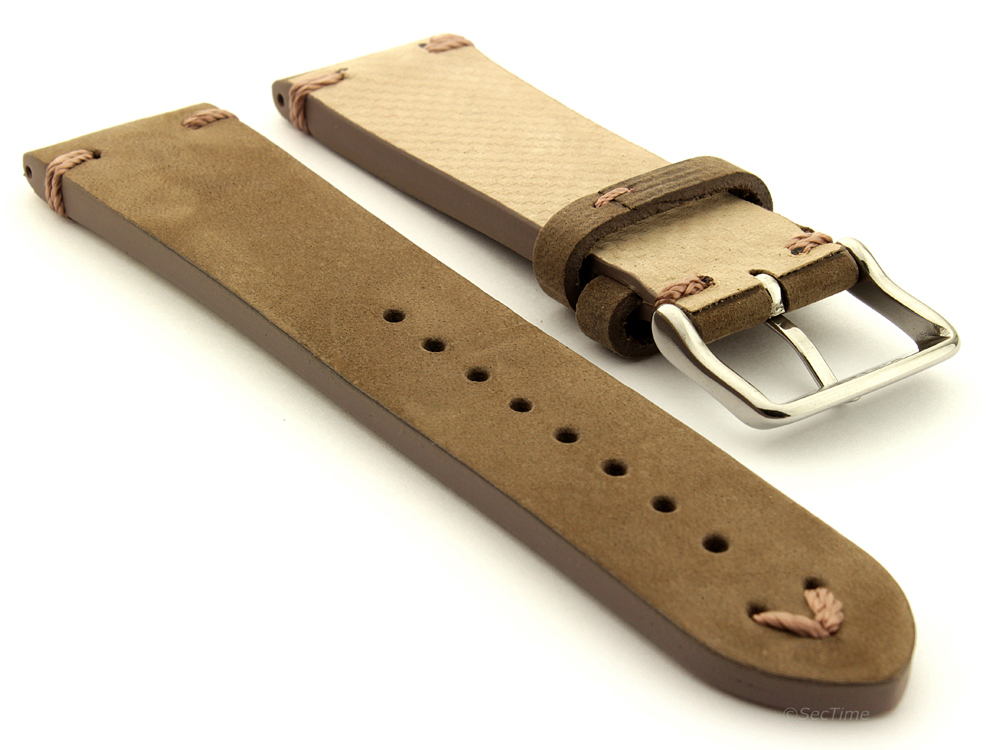 Suede Leather Retro Style Watch Strap Band Blacksmith Plus ...