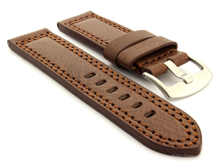 Men-039-s-Genuine-Leather-Watch-Strap-Band-Waterproof-CONSTANTINE-Pan-Style