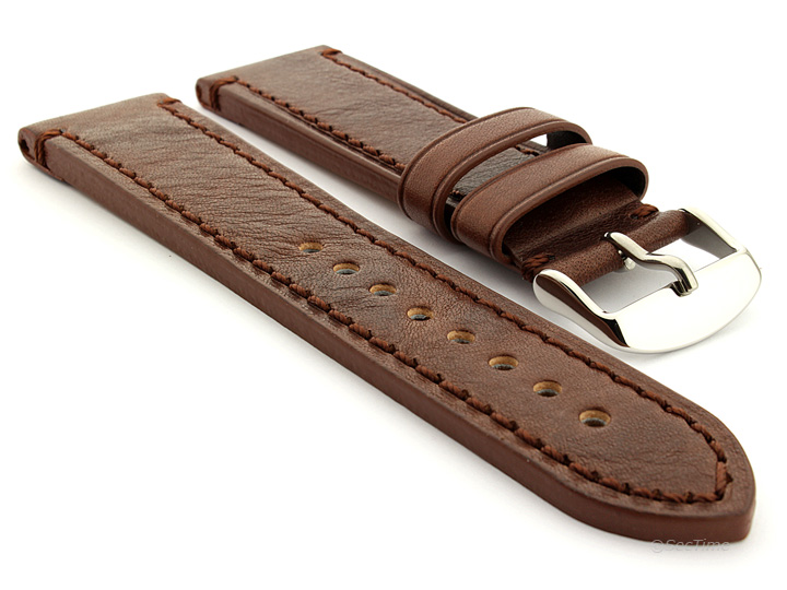 Grand Catalonia Watch Strap Dark Brown 01 01