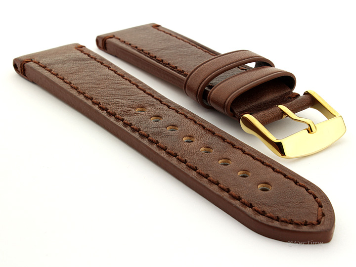 Grand Catalonia Watch Strap Dark Brown 03 03