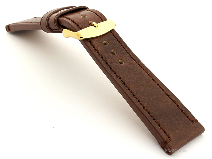 Grand Catalonia Watch Strap Dark Brown 03 04