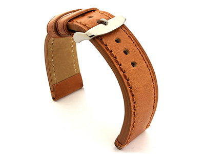 Leather Watch Strap Grand Catalonia Brown 20mm