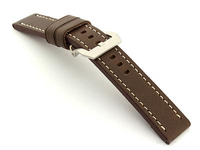 Watch Strap for Panerai Marina Dark Brown B202