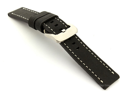 Watch Strap for Panerai Marina Matte Black B102