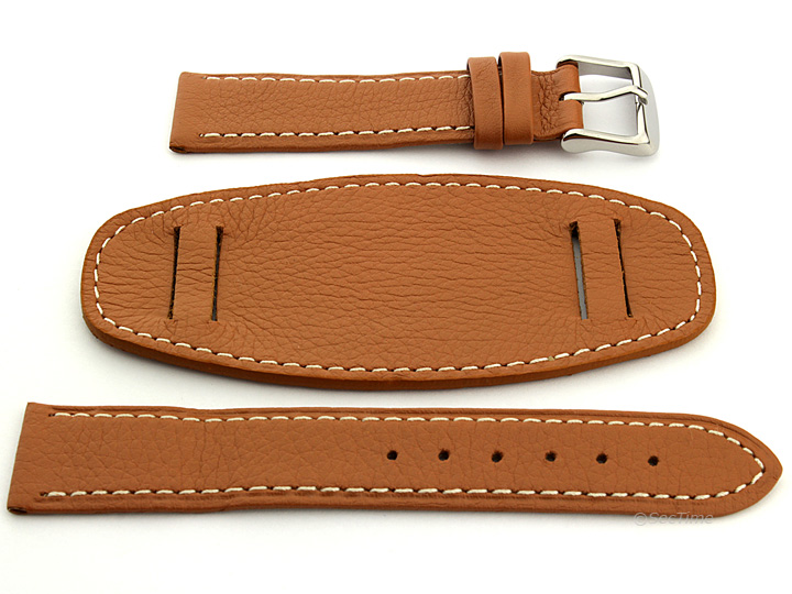 Mm Leather Watch Band