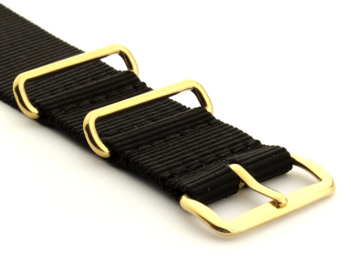 Nylon strap with buckle