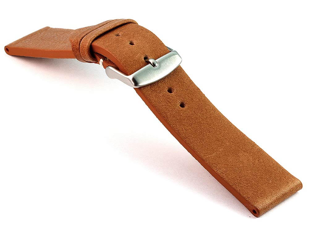 Genuine Leather Watch Strap Band Prague Brown 03