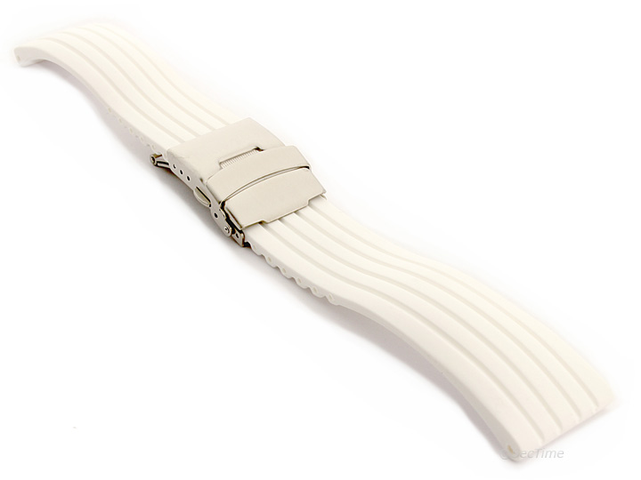 how to clean silicone watch strap
