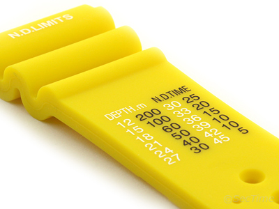 Silicone Rubber Watch Strap Band PRO Waterproof N.D.LIMITS Yellow 22mm