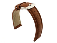 Watch Strap Band Freiburg RM Genuine Leather 18mm Brown/Brown